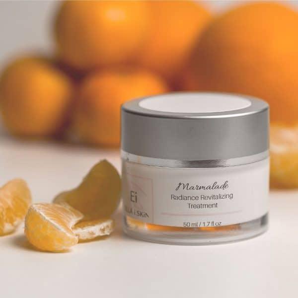 orange exfoliating mask
